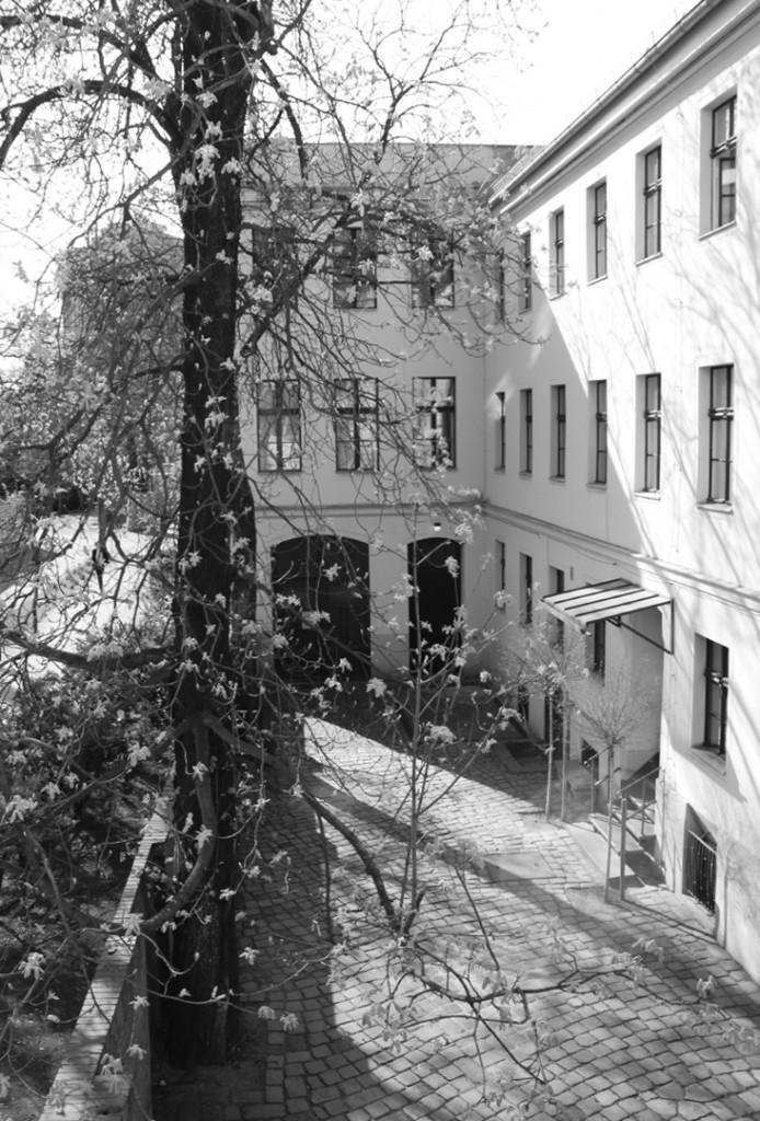 Hofansicht Brecht-Haus