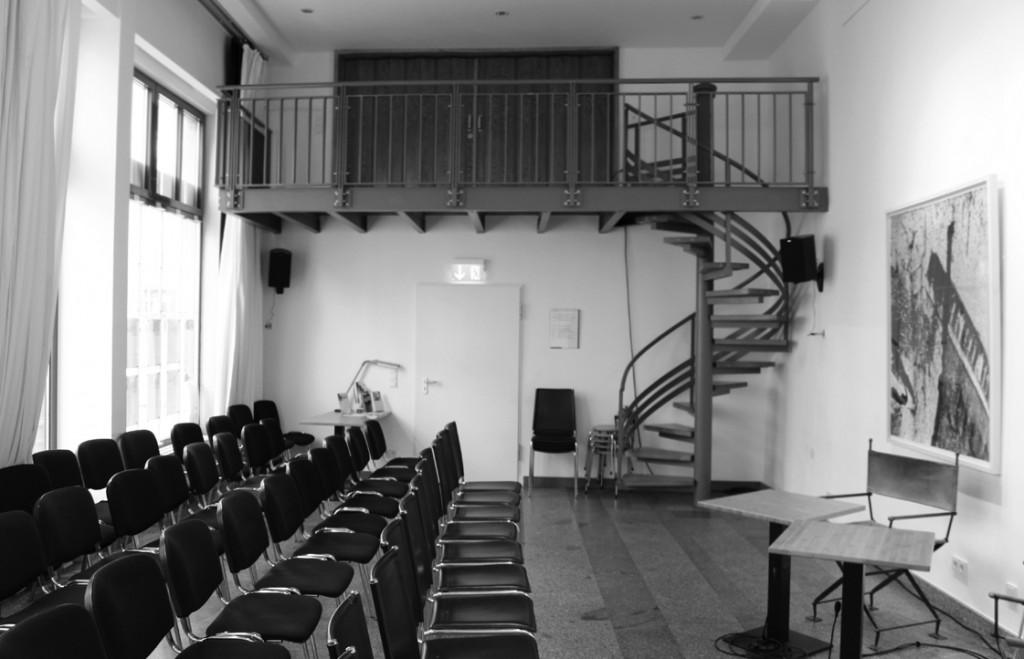 Saal Literaturforum im Brecht-Haus